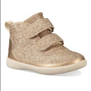 Ugg New T-Pitchard Gold Sparkles Hi-top sneakers